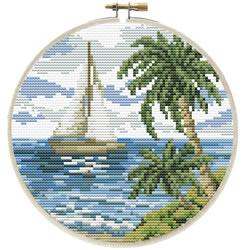Voorbedrukt borduurpakket Sailing Away - Needleart World