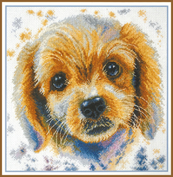 Cross stitch kit Lucy - Oven