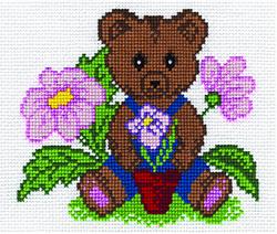 Borduurpakket Teddy Bear - PANNA