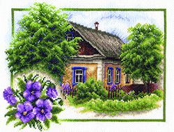 Cross Stitch Kit Summer House - PANNA
