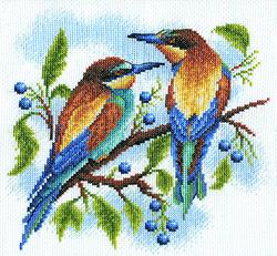Borduurpakket Birds - PANNA