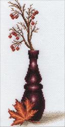 Cross stitch kit Red Berries - PANNA