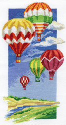 Cross Stitch Kit Air Balloons - PANNA