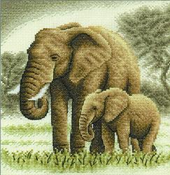Borduurpakket Elephants - PANNA