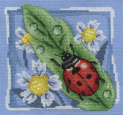 Borduurpakket Ladybug - PANNA
