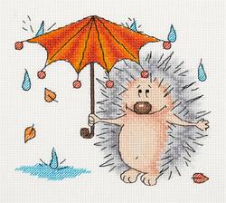 Borduurpakket Autumn Hedgehog - PANNA