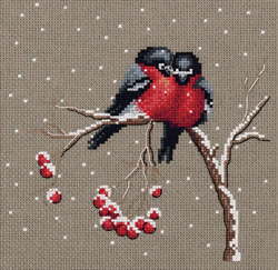 Cross stitch kit Winter Warmth - PANNA