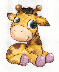 Cross stitch kit Jojo the Giraffe - PANNA
