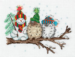 Cross stitch kit Among Friends - PANNA