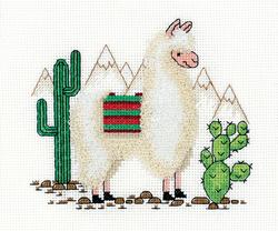Cross stitch kit Llama - PANNA