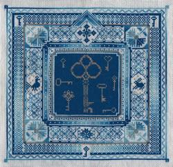 Borduurpakket Blue Keys - PANNA