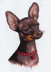 Borduurpakket Chihuahua - PANNA