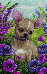Cross Stitch Kit Chihuahua - PANNA
