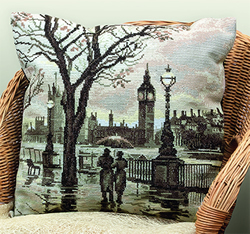 Borduurpakket London's Rain - PANNA