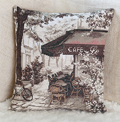 Borduurpakket Cafe - PANNA