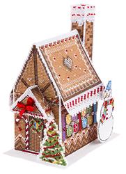 Borduurpakket New Year House - PANNA