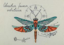 Borduurpakket Clockwork Dragonfly - PANNA