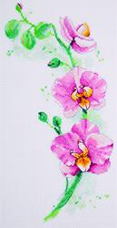 Borduurpakket Orchid - PANNA