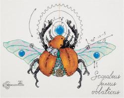 Borduurpakket Clockwork Beetle - PANNA