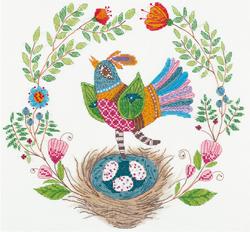 Borduurpakket Songbird - PANNA