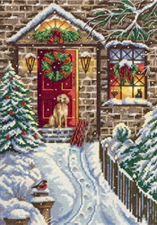 Cross stitch kit Christmas Eve - PANNA