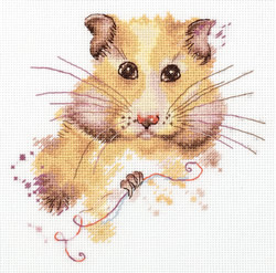 Cross stitch kit Hamster - PANNA