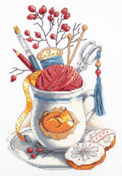 Cross stitch kit Crafter's Mug - PANNA