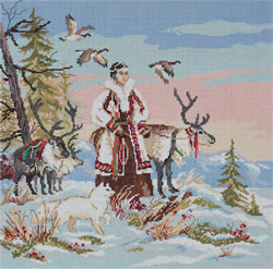 Borduurpakket The Mistress of Tundra - PANNA