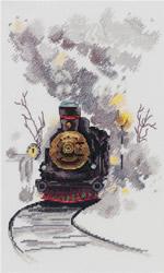 Borduurpakket The Misty Express - PANNA