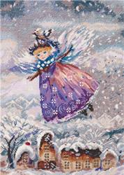 Borduurpakket Winter Angel - PANNA