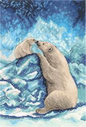 Borduurpakket Polar Bears - PANNA