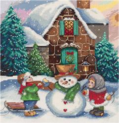 Cross stitch kit Winter Scene - PANNA