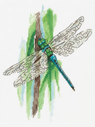 Cross stitch kit Dragonfly - PANNA
