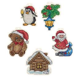 Borduurpakket Christmas Tree Decorations - PANNA