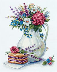 Cross stitch kit Good Morning - PANNA