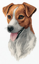 Cross stitch kit Jack Russell Terrier - PANNA