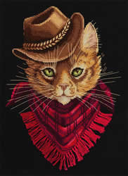 Cross stitch kit Tom - Outlaw - PANNA
