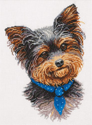 Cross stitch kit Yorkshire Terrier - PANNA