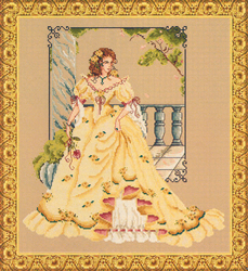 Borduurpatroon Garden Elegance - Passione Ricamo
