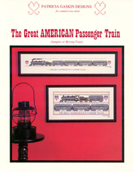 Cross Stitch Chart Great American Passenger Train - Patricia Gaskin