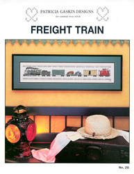 Cross Stitch Chart Freight Train - Patricia Gaskin