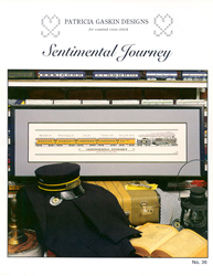 Cross Stitch Chart Sentimental Journey - Patricia Gaskin