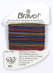 Bravo Blues & Gold - Rainbow Gallery
