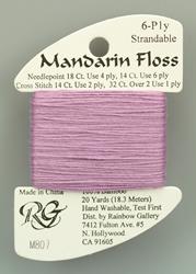 Mandarin Floss Lite Violet - Rainbow Gallery