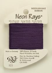 Neon Rays Purple - Rainbow Gallery
