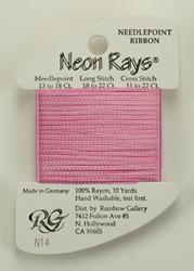 Neon Rays Hot Pink - Rainbow Gallery