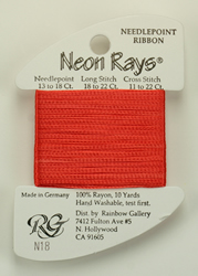 Neon Rays Dark Peach - Rainbow Gallery
