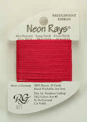 Neon Rays Cherry - Rainbow Gallery