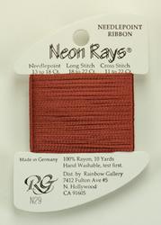 Neon Rays Rust - Rainbow Gallery