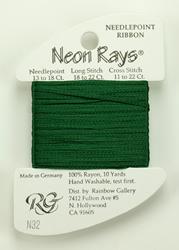 Neon Rays Spruce Green - Rainbow Gallery